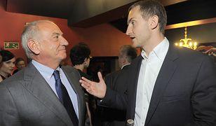 Biznesmen i celebryta Michał Niemczycki z ojcem Zbigniewem