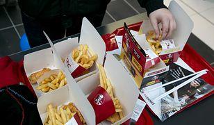 Jedzenie z KFC niezmiennie cieszy się dużą popularnością