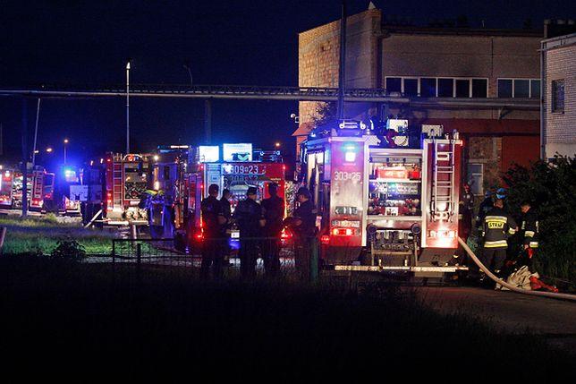 Białystok. Akcja straży pożarnej, w gaszeniu pożaru zginęło dwóch ratowników