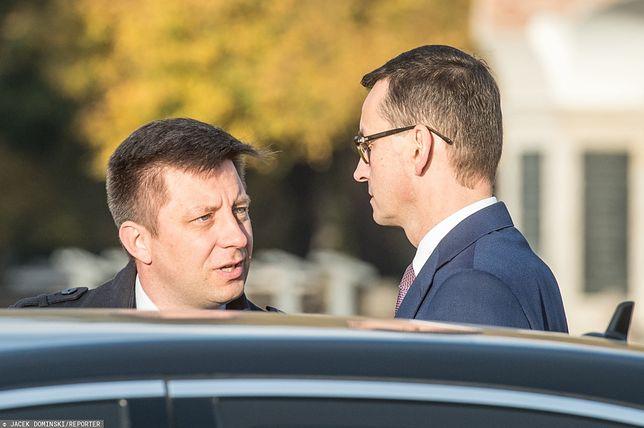 List ambasadorów w Polsce ws. LGBT. Szef KPRM Michał Dworczyk oraz premier Mateusz Morawiecki