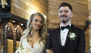 Daniel M. i Ewelina pobrali się w październiku 2018 r.