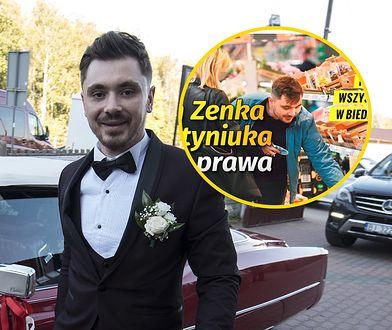 Daniel Martyniuk został znowu przyłapany bez maseczki