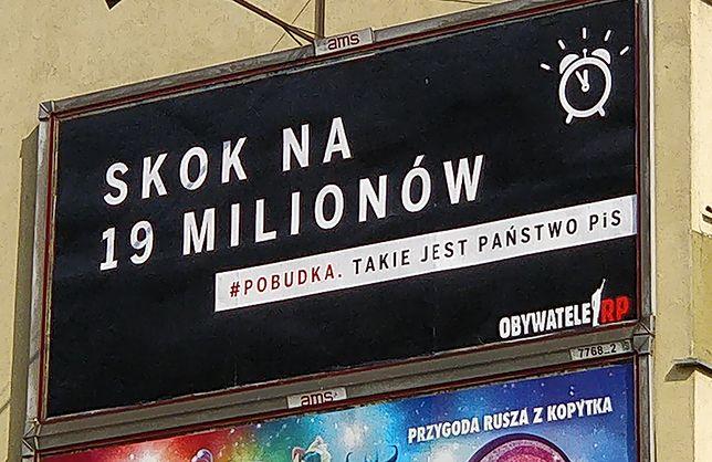 Wojna na billboardy. Obywatele RP odpowiadają na kampanię PiS
