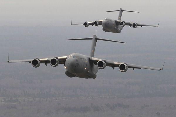 Samoloty transportowe C-17 Globemaster III