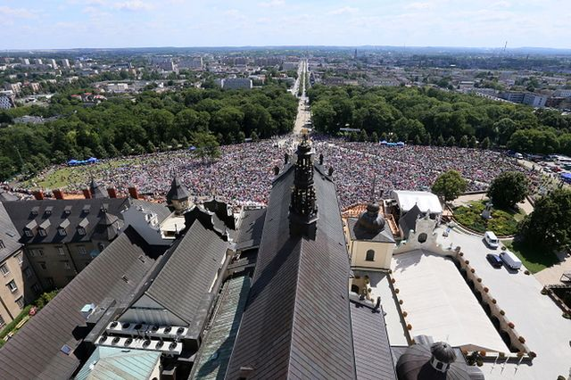 100 tys. ludzi na Jasnej Górze