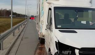Śmiertelny wypadek na S8 pod Pabianicami. Wyszedł z auta i zginął
