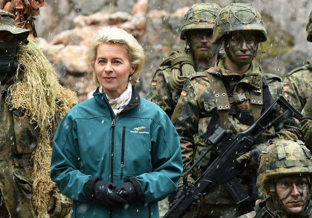 Minister obrony Niemiec zapowiada liczebne wzmocnienie Bundeswehry