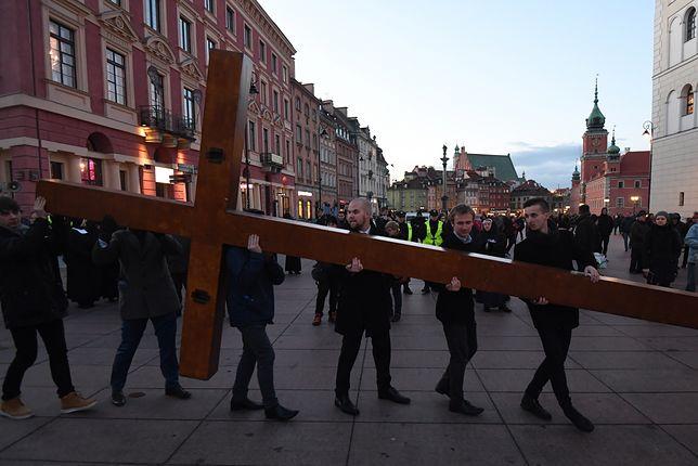 Centralna Droga Krzyżowa w Warszawie w 2017 r.