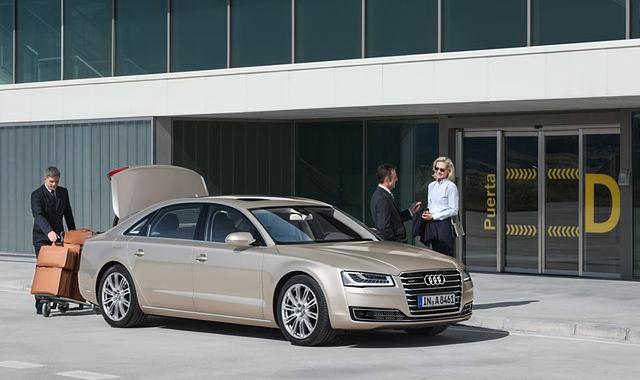 Audi A8 z biznesowym wyróżnieniem