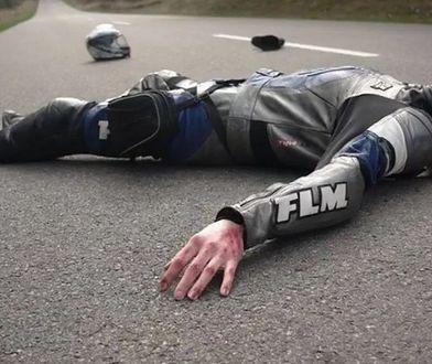 Marzena promowała szacunek dla motocyklistów