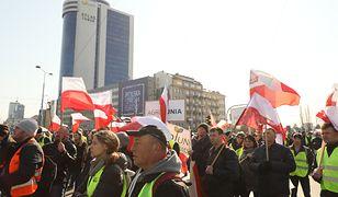 Warszawa. Rolnicy zablokowali miasto