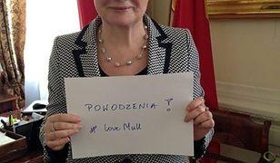 Prezydent Warszawy żegna Stephena Mulla