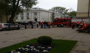 Alarm bombowy na Uniwersytecie Warszawskim