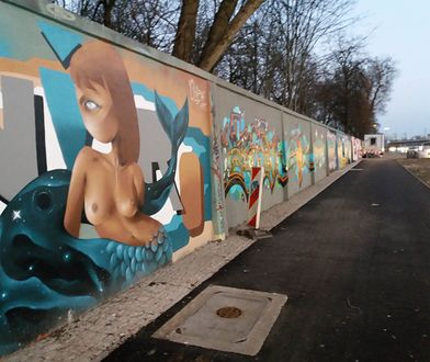 Mieszkańcy stolicy komentują nowe graffiti