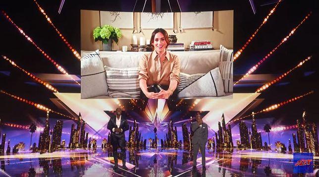 """Meghan Markle połączyła się ze studiem NBC, by wesprzeć finalistę programu """"America's Got Talent"""""""