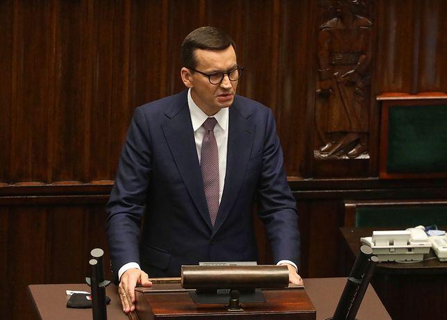 """Stan wyjątkowy. Premier oskarżył opozycję. """"Scenariusz z Moskwy"""""""