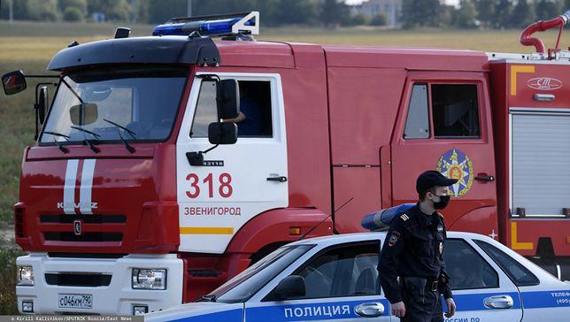 Rosja. Awaryjne lądowanie samolotu w tajdze. Wybuchł pożar