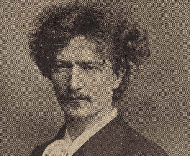 """Ignacy Jan Paderewski, fotografia z książki """"Współcześni Muzycy"""" J. Cuthberta Hadde''a z 1913 r."""
