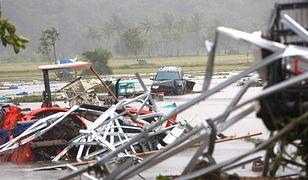 Bilans ofiar tsunami na Indonezji, wywołany erupcją wulkanu, wciąż rośniej