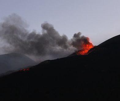 Etna wybuchła w niedzielę