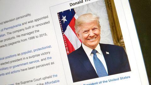 Ataki na Wikipedię nie ustają. Komuś bardzo zależy, by Donald Trump był penisem