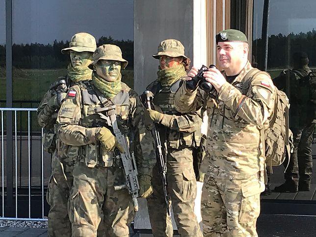 """Polscy żołnierze """"odbili"""" lotnisko w Szymanach. Ćwiczenia były pierwszym, praktycznym egzaminem obrony terytorialnej"""