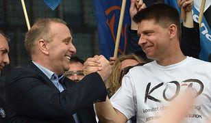 Grzegorz Schetyna (lider PO) i Ryszard Petru (lider Nowoczesnej)