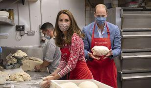 Kate Middleton i książę William pomagali w londyńskiej piekarni