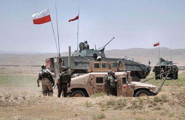 Akcja polskich żołnierzy w Afganistanie