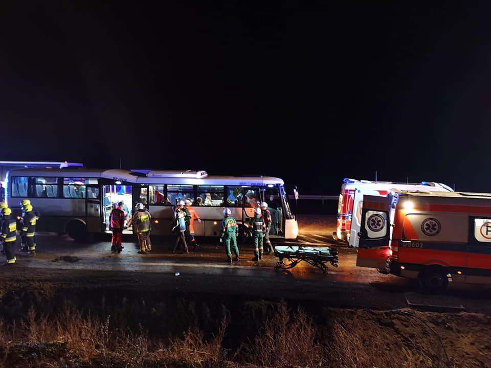 Tragiczny wypadek na S3. Jedna osoba nie żyje, ponad 20 w szpitalach