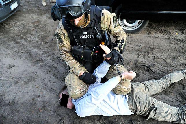 Grzegorz Sz. został zatrzymany przez antyterrorystów rok temu. Teraz trafi do więzienia.