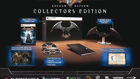 Informacja prasowa: Batman: Arkham Asylum w wersji dla kolekcjonera!
