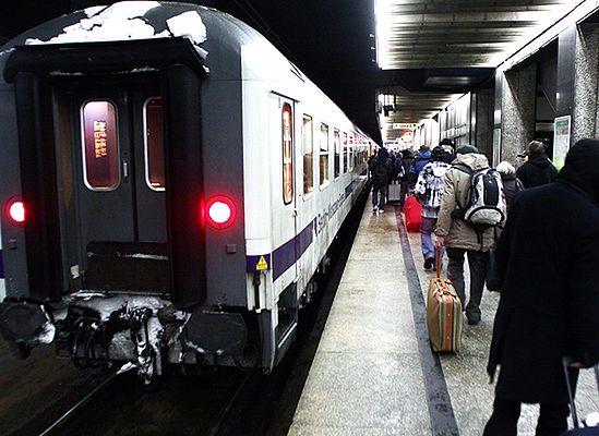 Nocne pociągi będą bardziej niebezpieczne
