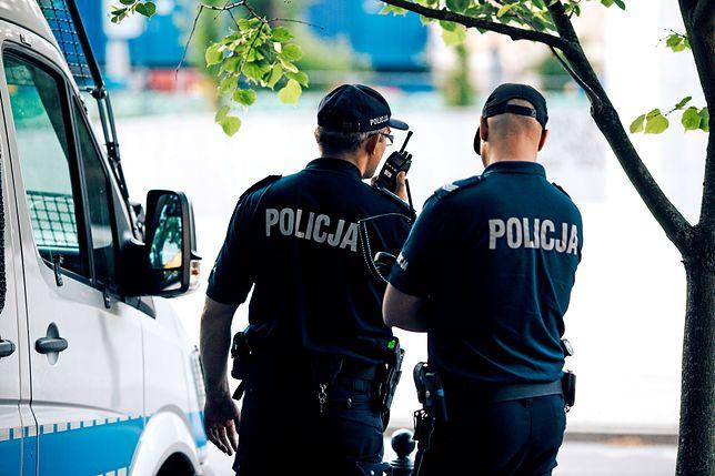 Policjanci powiadomili matkę dziecka