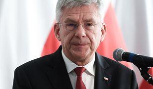 """Stanisław Karczewski zauważył, że Mosbacher jest """"szczera"""""""