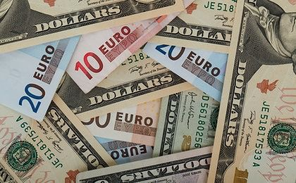 Inflacja w strefie euro najwyższa od 4 lat. Wspólna waluta traci do dolara