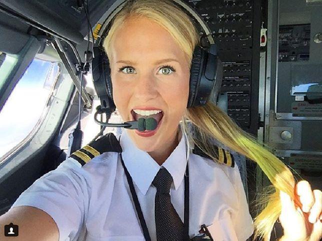 """Ma zaledwie 25 lat a już została mianowana """"miss lotnictwa"""""""