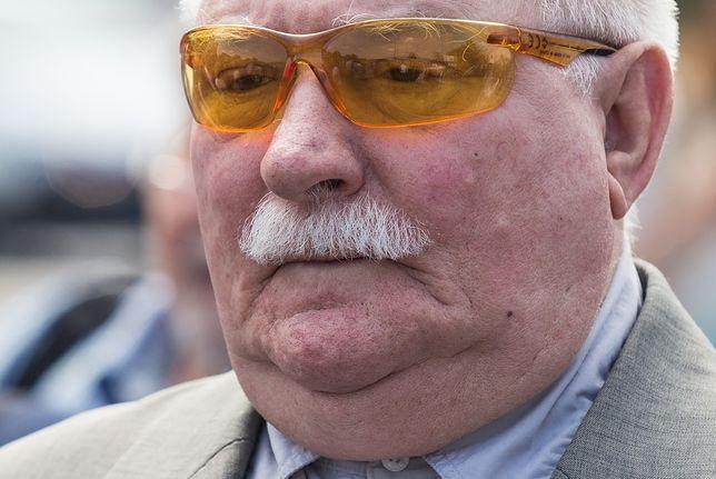 Okulary Lecha Wałęsy przyciągają uwagę