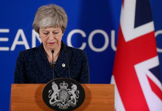 W ostatnich dniach Theresa May była krytykowana za atak na posłów zasiadających w Izbie Gmin