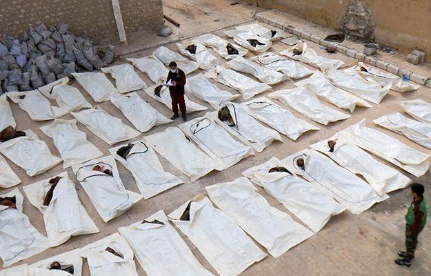 Śledztwo wykazało, że armia syryjska dokonała dwóch ataków z użyciem broni chemicznej