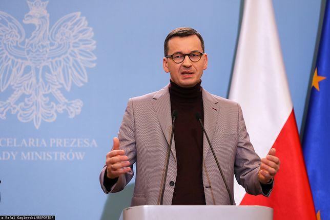 Premier Mateusz Morawiecki zorganizował konferencję dot. epidemii koronawirusa