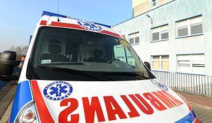 Kobieta trafiła do szpitala i jej życiu nie zagraża niebezpieczeństwo