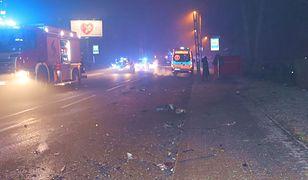 Bytom. Śmiertelny wypadek w Miechowicach. Zginął młody kierowca volvo