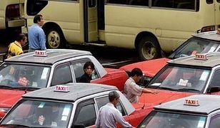 Uber zabrał im co piątego klienta. Taksówkarze z Hong-Kongu protestują