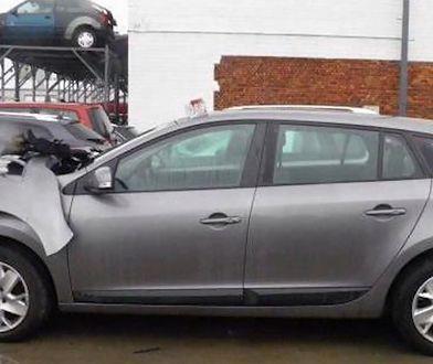 Całkowicie rozbite auto sprzedawał jako 100-procentowo bezwypadkowe