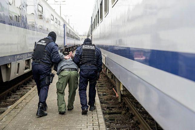 Atak nożownika w Poznaniu. Gruzin ranił dwie osoby na dworcu