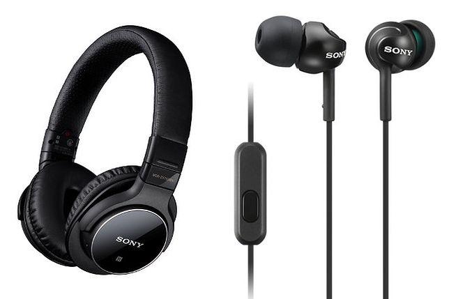 Nowe słuchawki Sony z serii MDR-ZX i MDR-EX