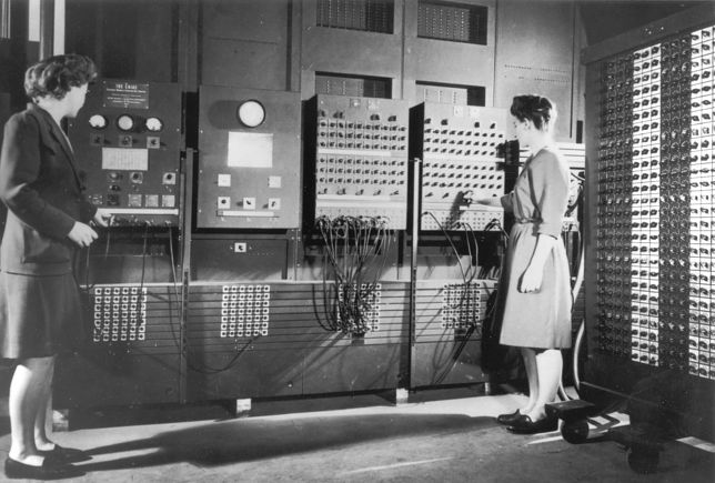 Pierwsze komputery były programowane przez kobiety
