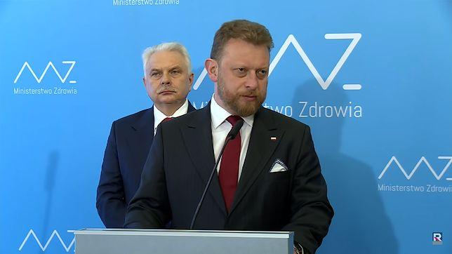 Minister Zdrowia Łukasz Szumowski wprowadza stan zagrożenia epidemiologicznego