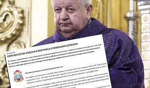 Jest oświadczenie kardynała Stanisława Dziwisza ws. Jana Pawła II
